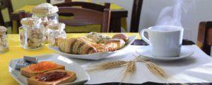 Bed & Breakfast Porto Cesareo - Palazzo Greco Vacanze - Colazione